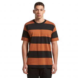 AS Colour Mens Wide Stripe Tee